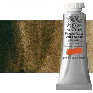 totenart-Acuarela Artist Winsor & Newton color pardo Van Dyck (14 ml)