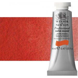 totenart-Acuarela Artist Winsor & Newton color rojo de cadmio oscuro (14 ml)