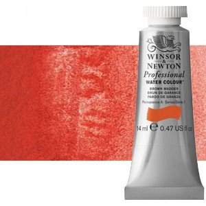 totenart-Acuarela Artist Winsor & Newton color rojo de cadmio (14 ml)