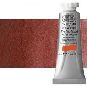 totenart-Acuarela Artist Winsor & Newton color rojo indio (14 ml)