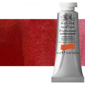 totenart-Acuarela Artist Winsor & Newton color rojo Winsor oscuro (14 ml)