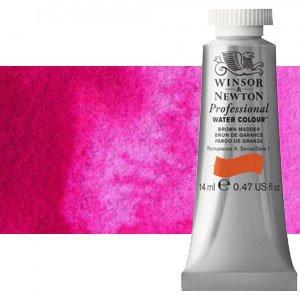 totenart-Acuarela Artist Winsor & Newton color rosa ópera (14 ml)