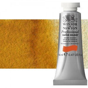 totenart-Acuarela Artist Winsor & Newton color siena natural (14 ml)