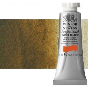 totenart-Acuarela Artist Winsor & Newton color sombra natural (14 ml)