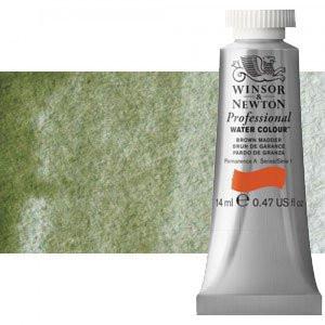 totenart-Acuarela Artist Winsor & Newton color tierra verde sombra amarilla (14 ml)