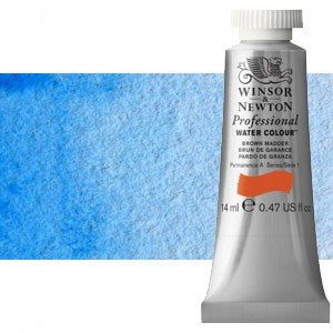 totenart-Acuarela Artist Winsor & Newton color tono azul manganeso (14 ml)