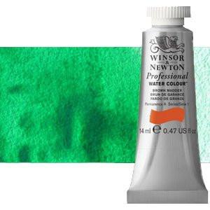 totenart-Acuarela Artist Winsor & Newton color verde esmeralda (14 ml)