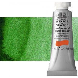 totenart-Acuarela Artist Winsor & Newton color verde Hooker (14 ml)