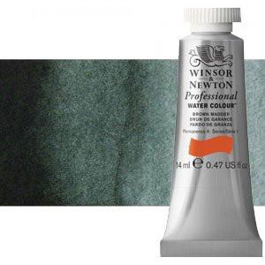 totenart-Acuarela Artist Winsor & Newton color verde de perileno (14 ml)