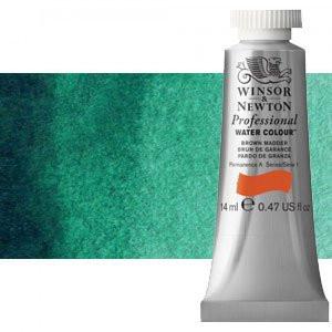 totenart-Acuarela Artist Winsor & Newton color verde Winsor sombra azul (14 ml)