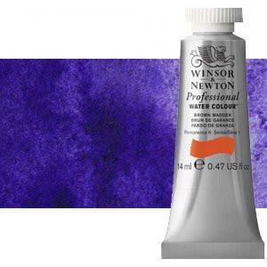 totenart-Acuarela Artist Winsor & Newton color violeta ultramar (14 ml)
