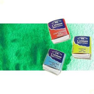 totenart-acuarela-cotman-winsor-newton-verde-esmeralda-medio-godet