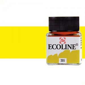 totenart-acuarela-liquida-ecoline-talens-205-amarillo-limon-frasco-30-ml