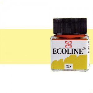 totenart-acuarela-liquida-ecoline-talens-226-amarillo-pastel-frasco-30-ml