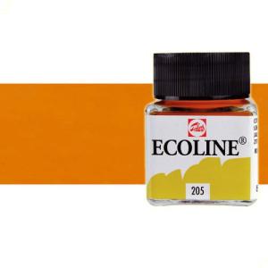 totenart-acuarela-liquida-ecoline-talens-245-azafranado-frasco-30-ml