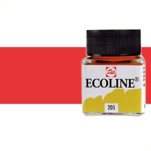 totenart-acuarela-liquida-ecoline-talens-334-escarlata-frasco-30-ml