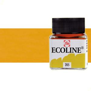 totenart-acuarela-liquida-ecoline-talens-407-ocre-oscuro-frasco-30-ml