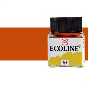 totenart-acuarela-liquida-ecoline-talens-411-siena-tostado-frasco-30-ml