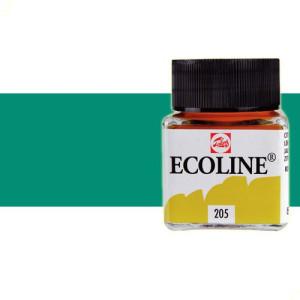 totenart-acuarela-liquida-ecoline-talens-602-verde-oscuro-frasco-30-ml