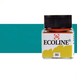 totenart-acuarela-liquida-ecoline-talens-654-verde-pino-frasco-30-ml