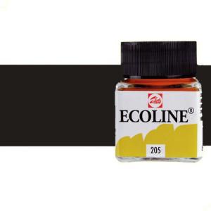 Totenart. Acuarela líquida Talens color Gris oscuro (30 ml)