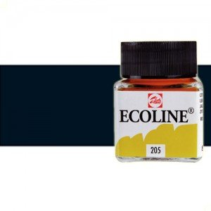 Acuarela líquida Talens color negro (30 ml)