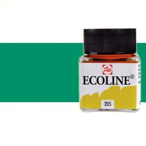 Acuarela líquida Talens color verde bosque (30 ml)