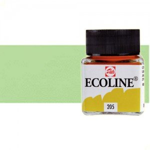 Acuarela líquida Ecoline Talens color verde pastel (30 ml)