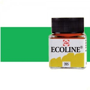 Acuarela líquida Talens color verde primavera (30 ml)