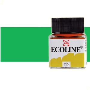 Acuarela líquida Ecoline Talens color verde primavera (30 ml)