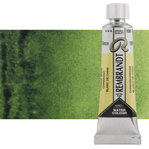 Acuarela Rembrandt Color Verde Vejiga 623 (20 ml)