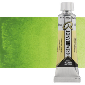 Acuarela Rembrandt Color Verde Amarillo Permanente 633 (20 ml)