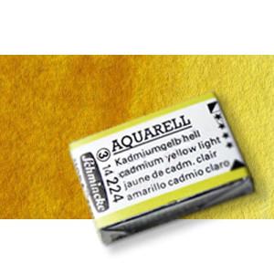 Totenart-Acuarela Schmincke Horadam, amarillo transparente 209 ,Godet Completo.