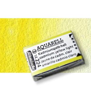 Totenart-Acuarela Schmincke Horadam, amarillo de cromo limón 211, Godet Completo.