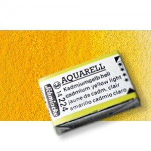 Totenart-Acuarela Schmincke Horadam Godet Completo ,color amarillo 213.