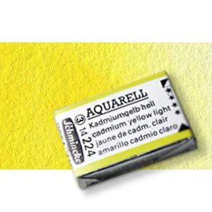 Totenart-Acuarela Schmincke Horadam, amarillo limón 215 , Godet Completo.
