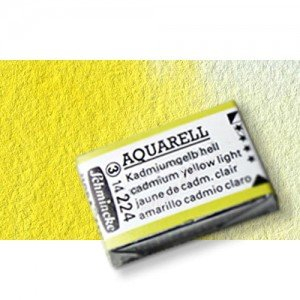 Totenart-Acuarela Schmincke Horadam, amarillo de cadmio limón 223 , Godet Completo.