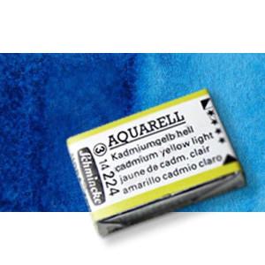 Totenart-Acuarela Schmincke Horadam, azul de ftalocianina 484, Godet Completo.