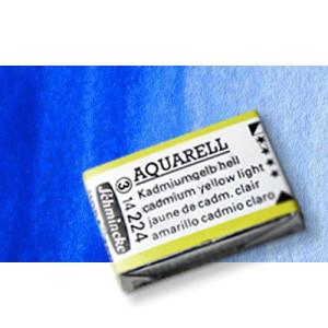 Totenart-Acuarela Schmincke Horadam, azul de cobalto claro 487, Godet Completo.