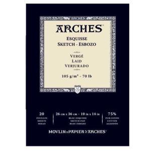 totenart-Esbozo Arches 105 gr, 23x31 cm, G.Verjurado, block 20 h.