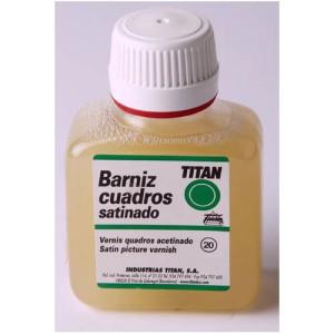 Barniz satinado Titan para cuadros (100 ml)