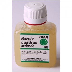 Barniz satinado Titan para cuadros (250 ml)