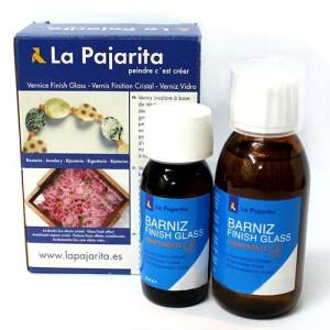 Totenart-Barniz efecto cristal Kit Finish Glass de La Pajarita (180 ml)
