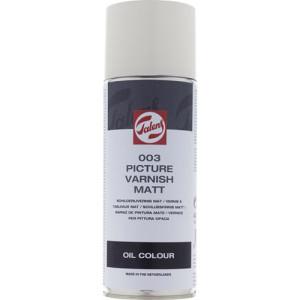 Barniz mate Talens en spray para óleo (400 ml)