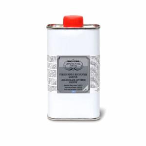 Totenart-Barniz Proteccion negro LAMOUR (liquido), 1 litro (Noir a recouvrir)