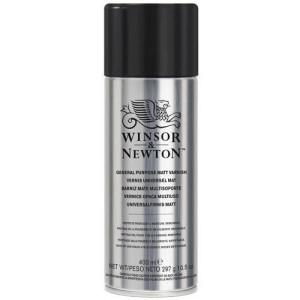 totenart-Barniz mate Winsor & Newton en spray para acrílico y óleo (400 ml)