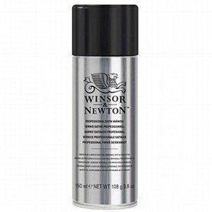 totenart-Barniz satinado Winsor & Newton en spray para acrílico y óleo (400 ml)