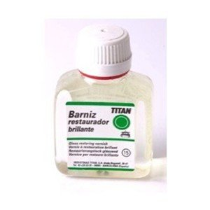 Barniz restaurador brillante Titan (100 ml)