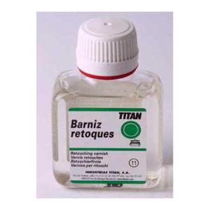 Barniz para retoques Titan (100 ml)