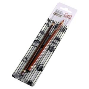 totenart-Set lápices sanguina y sepia Conte
